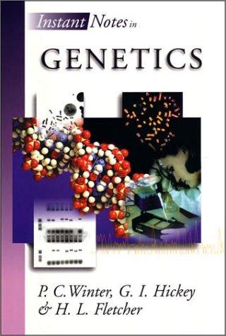 9780387915623: Instant Notes in Genetics