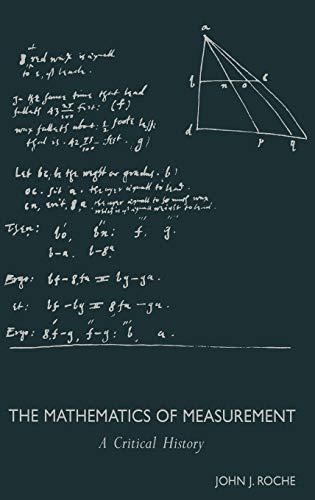 The Mathematics of Measurement,: John J. Roche