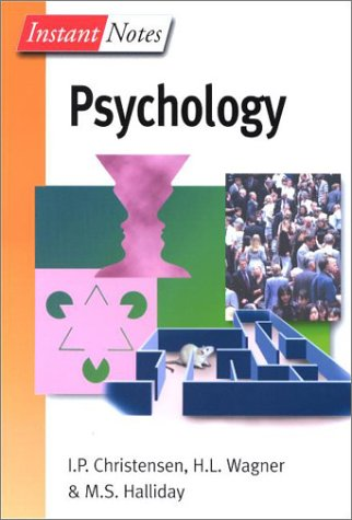 9780387915920: Instant Notes in Psychology