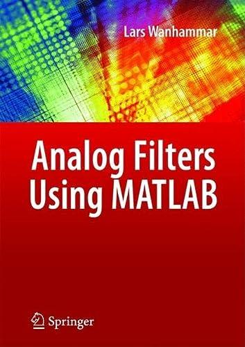 9780387927664: Analog Filters Using MATLAB