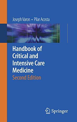 9780387928500: Handbook of Critical and Intensive Care Medicine