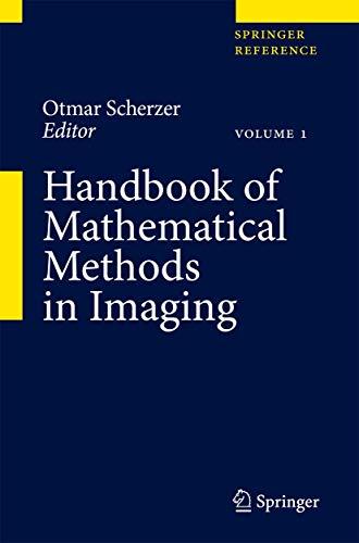 9780387929194: Handbook of Mathematical Methods in Imaging (Springer Reference)
