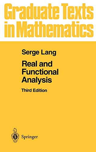 9780387940014: Real and Functional Analysis: v. 142 (Graduate Texts in Mathematics)
