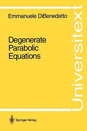 9780387940205: Degenerate Parabolic Equations (Universitext)