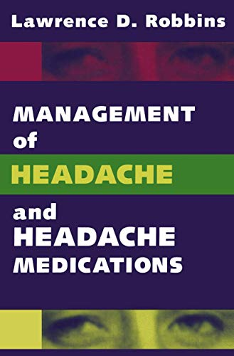 9780387940403: Management of Headache and Headache Medications
