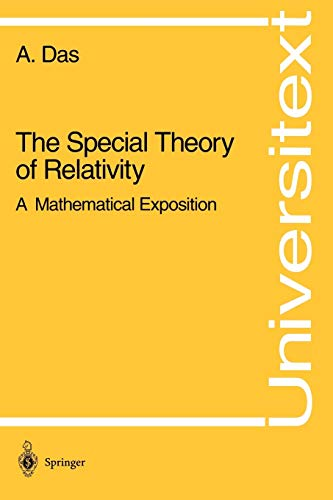 9780387940427: The Special Theory of Relativity: A Mathematical Exposition