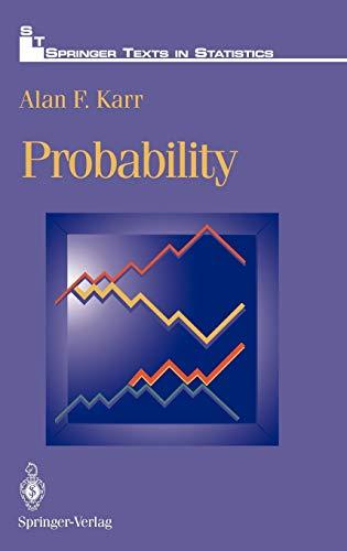 9780387940717: Probability (Springer Texts in Statistics)