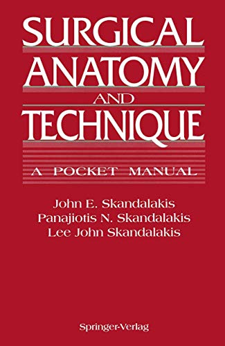 9780387940816: Surgical Anatomy and Technique: A Pocket Manual
