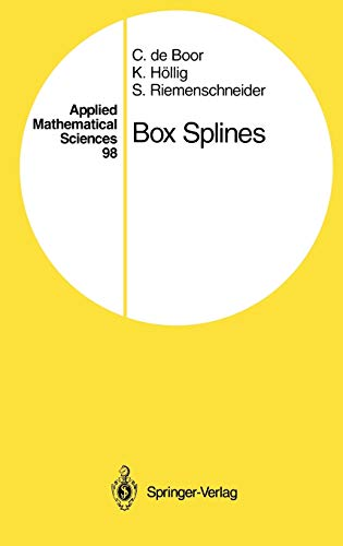 9780387941011: Box Splines (Applied Mathematical Sciences) (v. 98)
