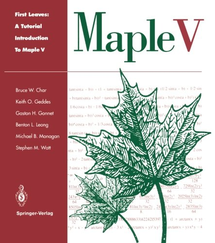 9780387941257: First Leaves: A Tutorial Introduction to Maple V