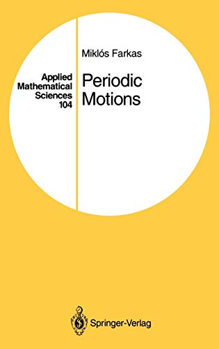 9780387942049: Periodic Motions (Applied Mathematical Sciences)