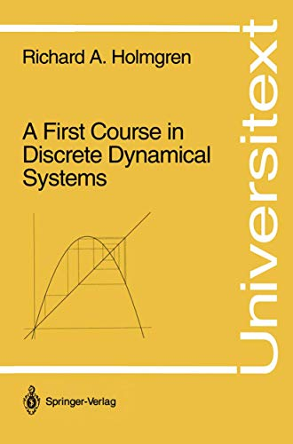 9780387942087: A First Course in Discrete Dynamical Systems
