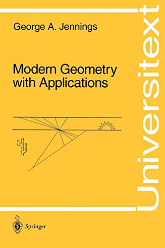 9780387942223: Modern Geometry with Applications (Universitext)