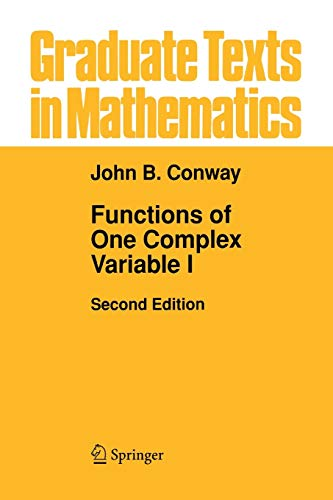 9780387942346: Functions of One Complex Variable I (Graduate Texts in Mathematics)