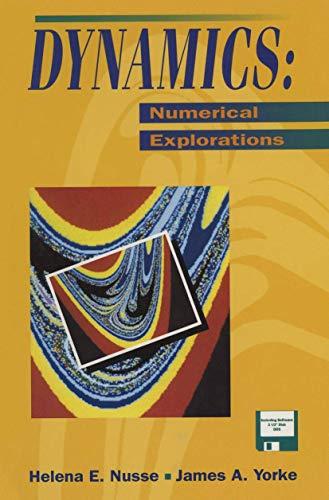9780387942544: Dynamics: Numerical Explorations (Applied Mathematical Sciences, Vol 101)