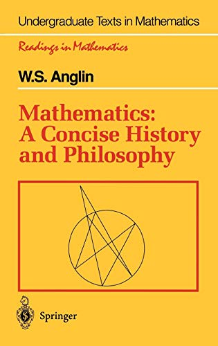 9780387942803: Mathematics: A Concise History and Philosophy