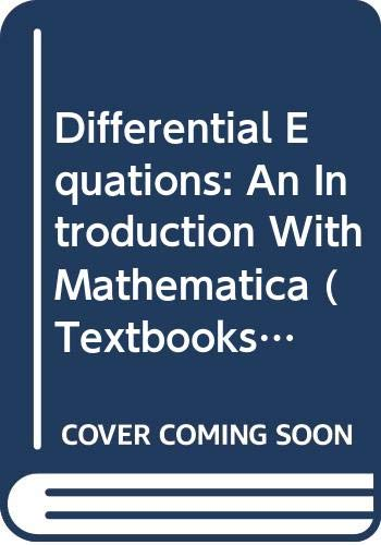 9780387943015: Differential Equations: An Introduction With Mathematica (Textbooks in Mathematical Sciences, No 1)