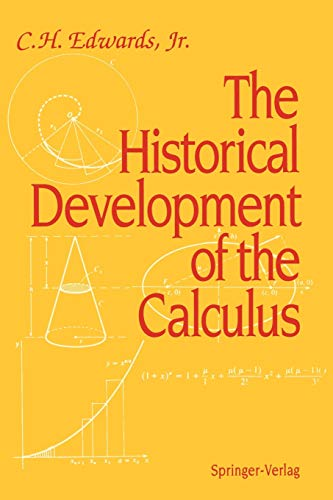 9780387943138: The Historical Development of the Calculus (Springer Study Edition)