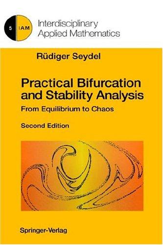 9780387943169: Practical Bifurcation and Stability Analysis (Interdisciplinary Applied Mathematics) (v. 5)