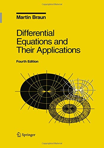 9780387943305: Differential Equations and Their Applications