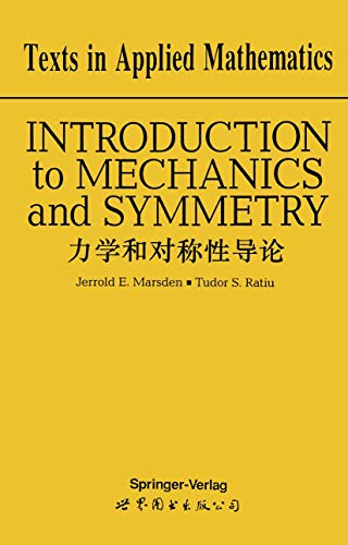 9780387943473: Introduction to Mechanics and Symmetry: A Basic Exposition of Classical Mechanical Systems