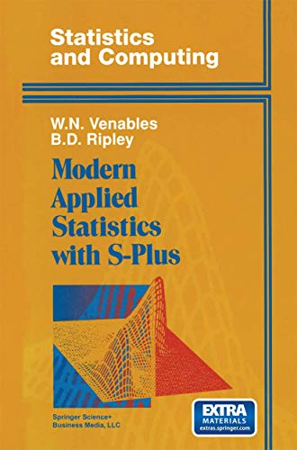 Modern Applied Statistics with S-Plus: W. N. Venables;