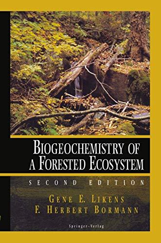 9780387943510: Biogeochemistry of a Forested Ecosystem