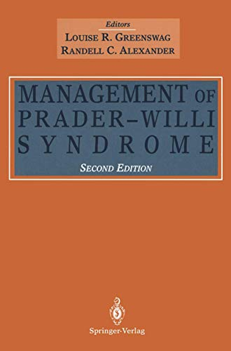 Management of Prader-Willi Syndrome: Greenswag, Louise R.