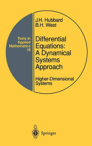 9780387943770: Differential Equations: A Dynamical Systems Approach: Higher-Dimensional Systems (Texts in Applied Mathematics) (Pt. 2)