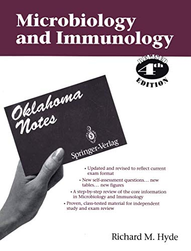 9780387943923: Microbiology & Immunology (Oklahoma Notes)