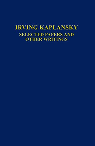 9780387944067: Selected Papers and Other Writings