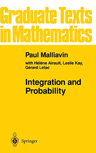 9780387944098: Integration and Probability (Graduate Texts in Mathematics) (v. 157)