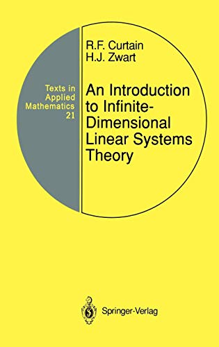 9780387944753: An Introduction to Infinite-Dimensional Linear Systems Theory (Texts in Applied Mathematics) (v. 21)