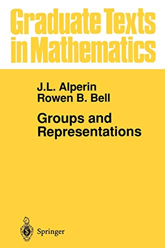 9780387945262: Groups and Representations