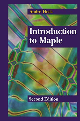 9780387945354: Introducton to Maple