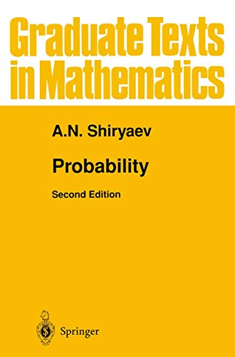 9780387945491: Probability: v. 95 (Graduate Texts in Mathematics)