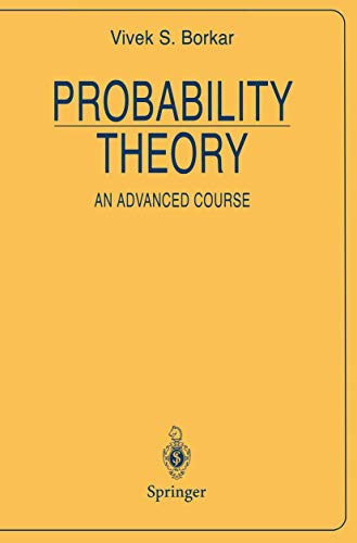 9780387945583: Probability Theory: An Advanced Course (Universitext)