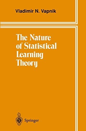 9780387945590: The Nature of Statistical Learning Theory