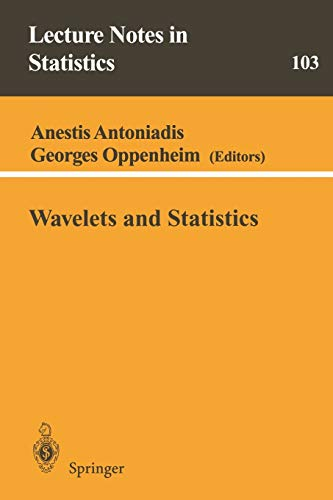 9780387945644: Wavelets and Statistics (Lecture Notes in Statistics)