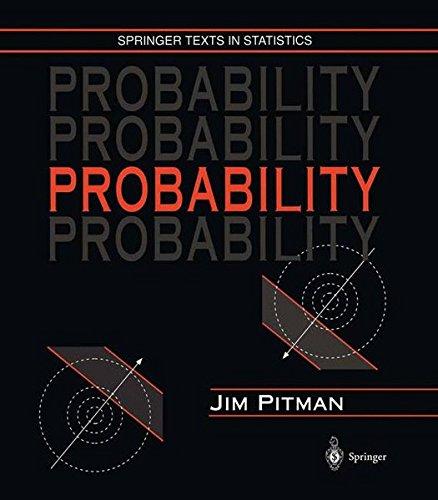 9780387945941: Probability (Springer Texts in Statistics)