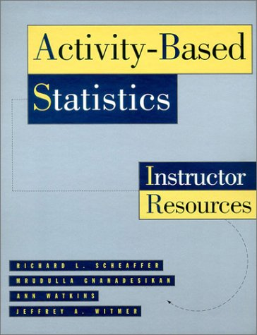 9780387945972: Activity-Based Statistics: Instructor Resources