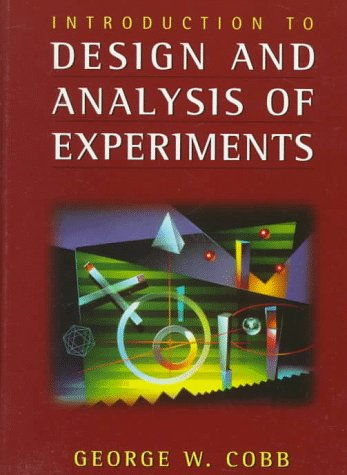 9780387946078: Introduction to Design and Analysis of Experiments (Textbooks in Mathematical Sciences)