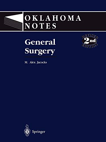 General Surgery. (= Oklahoma Notes): Jacocks, M. Alex: