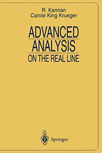 9780387946429: Advanced Analysis: On the Real Line (Universitext)