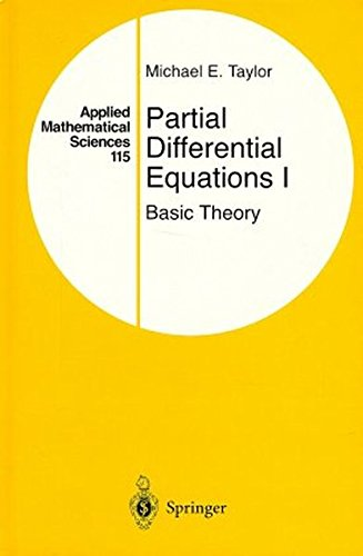 9780387946535: 001: Partial Differential Equations I: Basic Theory: v. 1 (Applied Mathematical Sciences)