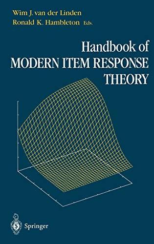 9780387946610: Handbook of Modern Item Response Theory