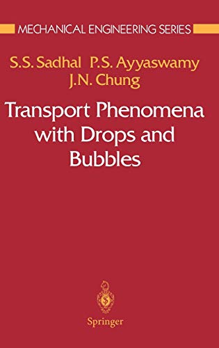 9780387946788: Transport Phenomena with Drops and Bubbles (Mechanical Engineering Series)