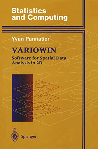 9780387946795: Variowin: Software for Spatial Data Analysis in 2D (Statistics and Computing)