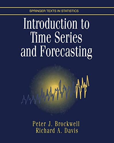 9780387947198: An Introduction to Time Series and Forecasting (Springer Texts in Statistics)