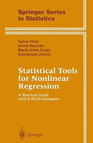 9780387947273: Statistical Tools for Nonlinear Regression: A Practical Guide With S-Plus Examples (Springer Series in Statistics)
